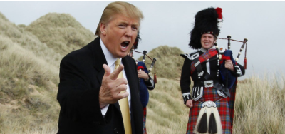 NYT With a Meeting, Trump Renewed a British Wind Farm Fight