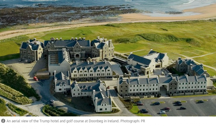 The Guardian: Trump's other Wall – Is his Irish golf resort a sign he believes in climate change?