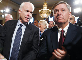 Politico: McCain and Graham: U.S. needs to hit Russia hard for election hacking