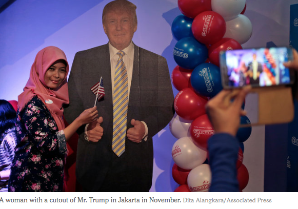 NYT: Trump's Indonesia Projects, Still Moving Ahead, Create Potential Conflicts