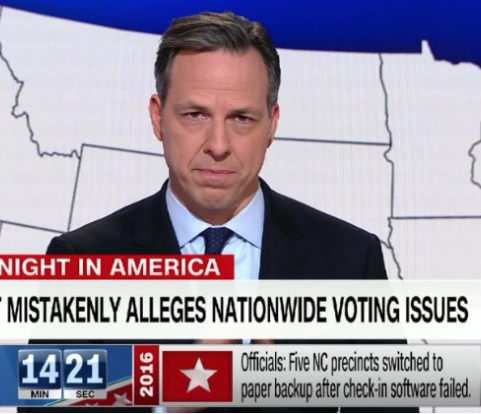 CNN: Jake Tapper Fact Checks Trump's Tweet