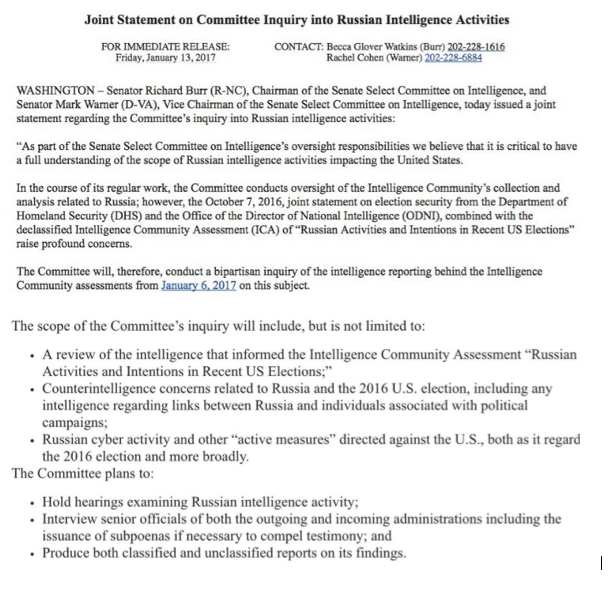 politicususa disaster for trump as senate intelligence committee to