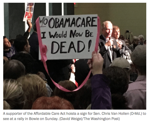 Chicago Tribune WP: Sanders, Democrats rally thousands across the country to save Obamacare