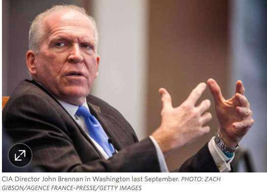 "WSJ: CIA Director calls Trumps Nazi Germany comments ""repugnant."" Denies leaking kompromat dossier"