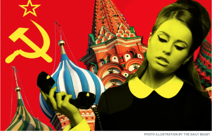"Daily Beast: Michael Weiss's chillingly prescient piece on KGB ""honey-traps."""