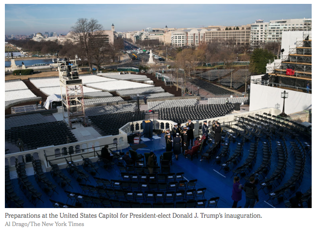 NYT: Inauguration Schedule: What Is Happening and When