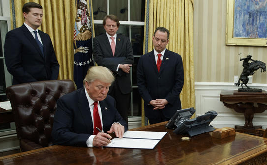 "TheHill.com: White House tells agencies to halt regs. Pres. signs exec order to ""ease the burden of Obamacare"""