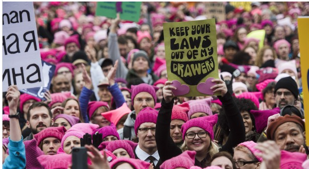 WP: Women's Marches: Millions of protesters around the country vow to resist Donald Trump