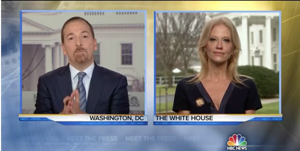 NBC News: Kellyanne Conway: WH Spokesman Gave 'Alternative Facts' on Inauguration Crowd