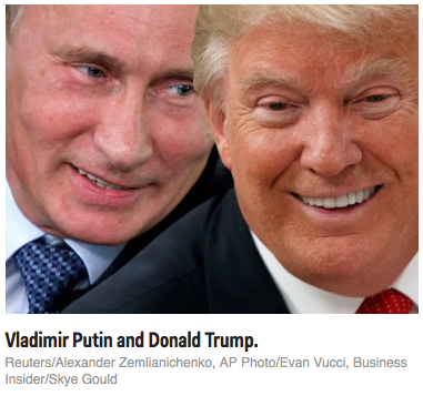 Business Insider: Donald Trump praised Vladimir Putin on the national stage again — here's what it all means