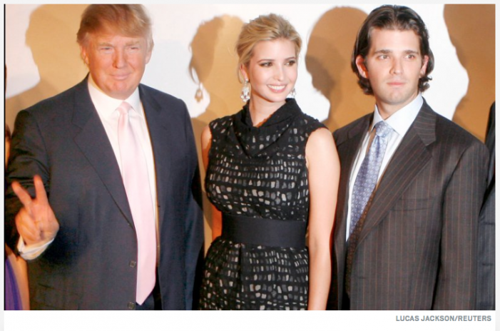 Daily Beast: Donald Trump and Kids Named in $250M Tax Scam