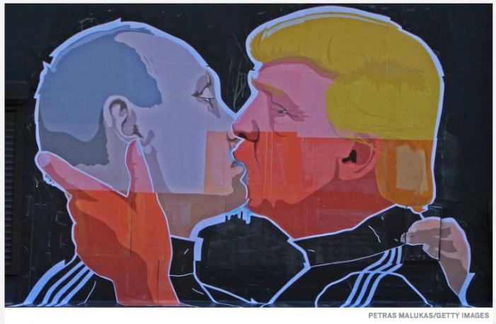 Daily Beast: Donald Trump's Unrequited Love for Vladimir Putin