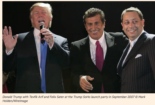 FT: US election: Trump's Russian riddle. The Republican nominee became the face of Bayrock, a developer with roots in the Soviet Union