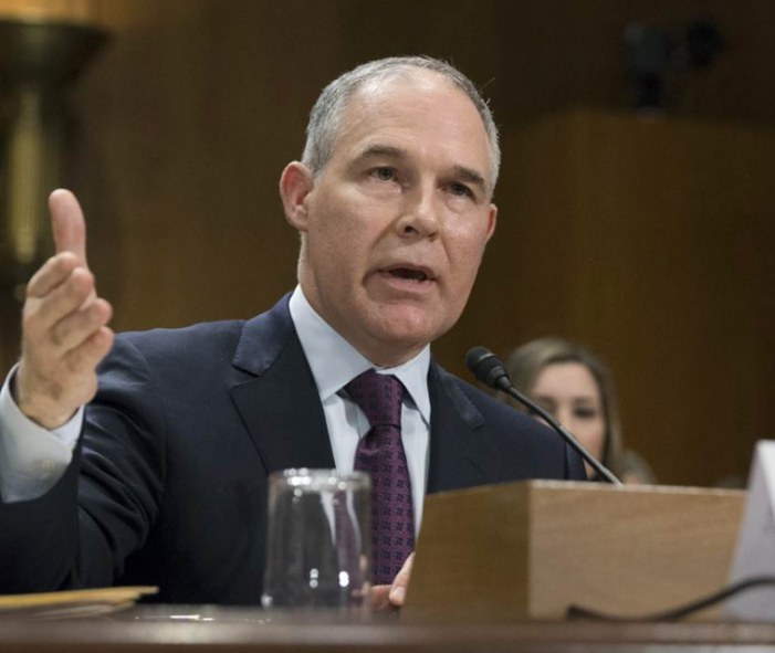 NBC News: Scott Pruitt, President Trump's EPA Nominee, Ordered to Release Thousands of Emails