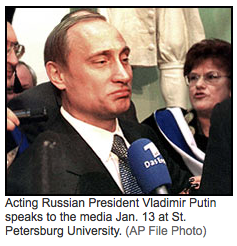 WP: Putin's Career Rooted in Russia's KGB