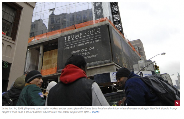 AP: Donald Trump picked stock fraud felon as senior adviser