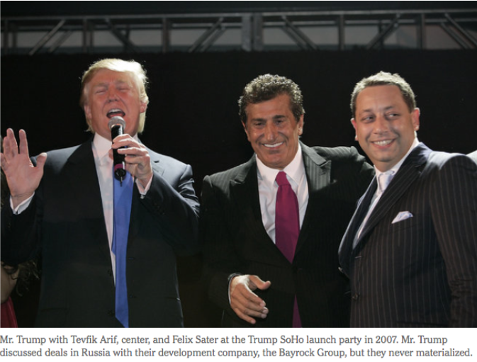 NYT: Real Estate Executive With Hand in Trump Projects Rose From Tangled Past