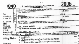 CNBC: Donald Trump's 2005 federal tax returns revealed on 'The Rachel Maddow Show'