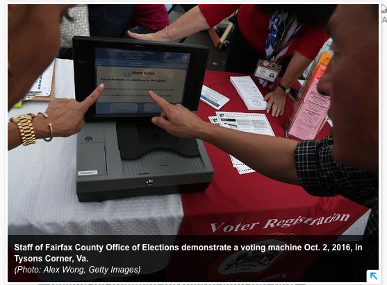USA Today: Election Assistance Commission may have been hacked, but no risk to votes