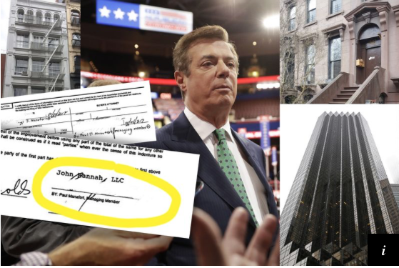WNYC: Paul Manafort's Puzzling New York Real Estate Purchases