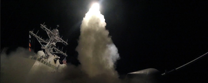 Chemical gas, Tomahawk missiles and a 180 turn in Trump's position on Syria. Was there a WAG THE DOG scenario behind last week's attack?
