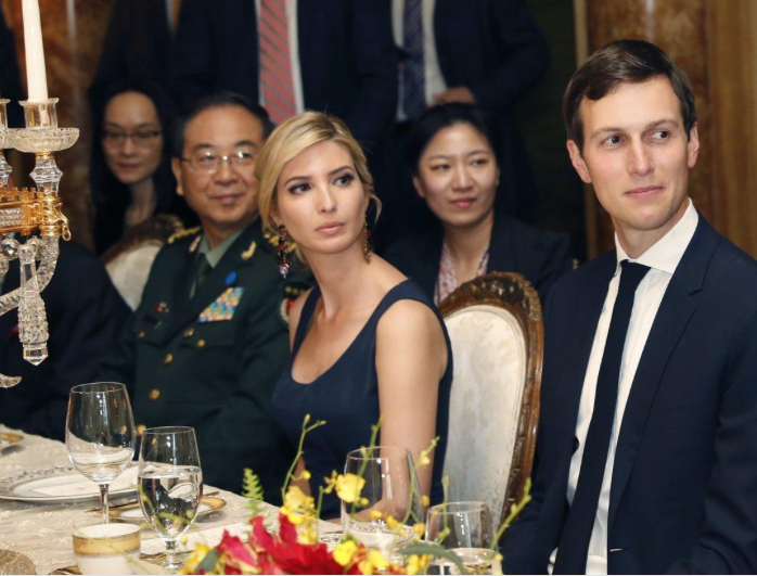 NY Daily News: Ivanka Trump received Chinese trademark approvals on day she dined with president of China