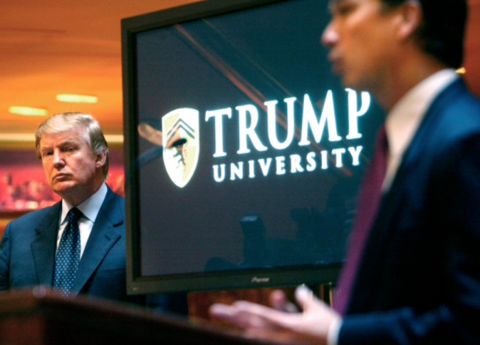 AP: Lawyer involved in Trump University case tapped for federal job