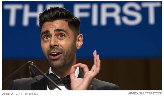 Variety: Watch Hasan Minhaj's Full Speech at the White House Correspondents Dinner