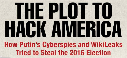"""Malcolm Nance's """"The Plot To Hack America"""" is a must read book on the Trump-Russia scandal"""