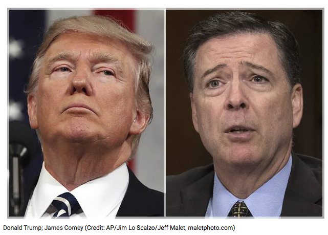 salon.com Did Donald Trump just admit to obstruction of justice? If he admits he fired James Comey because of the Russia investigation, this could be his Watergate