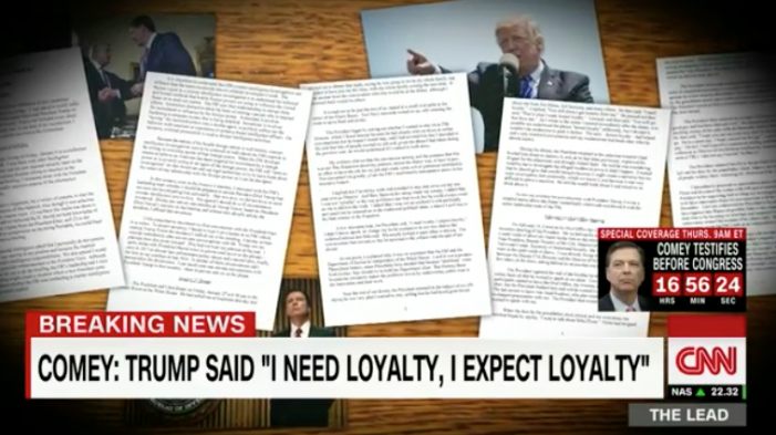 CNN: James Comey testimony: Trump asked me to let Flynn investigation go