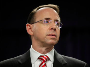Business Insider: Dep. A.G. Rosenstein set off alarms with a veiled statement about leaks