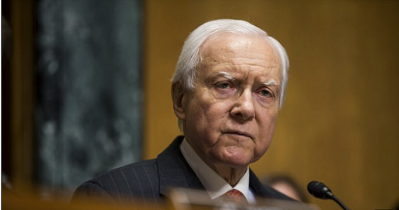 Daily Mail: Utah senator Orrin Hatch makes stunning U-turn on support for 'wife-beating' Trump aide in space of just 24 hours